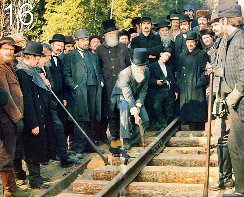 The 125th Anniversary Of The Driving Of The Last Spike On