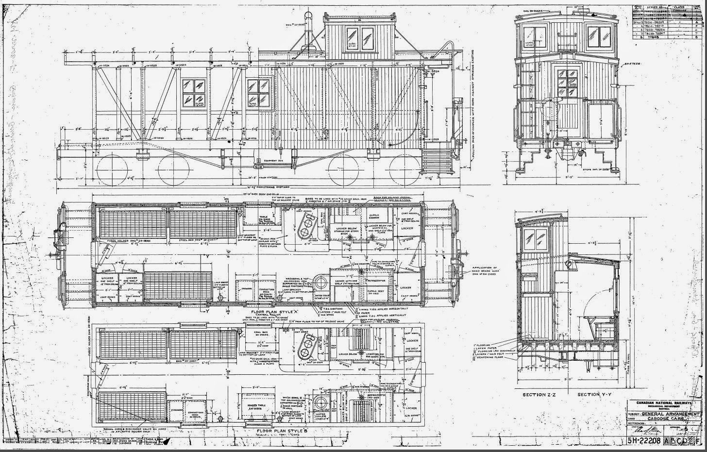 Caboose Interior Plans Pictures to Pin on Pinterest